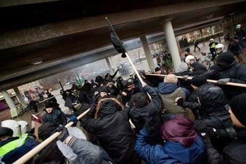 Anti-Fascists Unite Against the Right in Sweden [VIDEO]