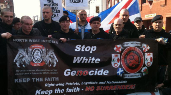 "Stand Against ""The Infidels"" in London"