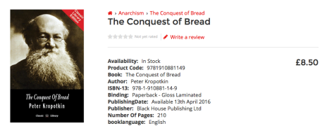 Conquest of Bread