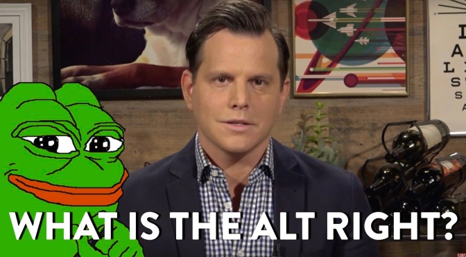 Alt Light or Alt Right?: Understanding What the Alt Right Really Is