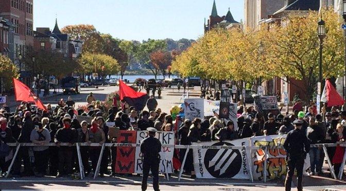 Anti-Fascist Overwhelm Nazis at Harrisburg Anti-Diversity Rally [VIDEOS]
