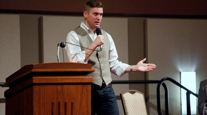 Richard Spencer Speaking at Auburn University on April 18th, Organized Resistance Forms