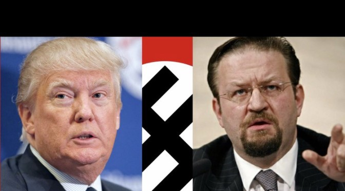 Deputy Assistant to the President Sebastian Gorka is a Fascist