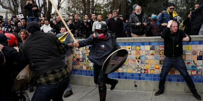 "Alt Right ""Free Speech Rally"" In Berkeley on April 15th"