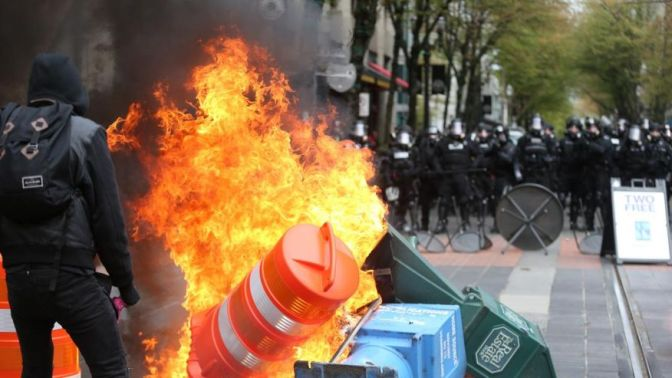 When the Riot Cops Attack: Repression and Solidarity in Portland's May Day