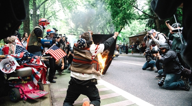 A Community United: Reportback and Video from Portland Clash Between the Alt Right and Anti-Fascists