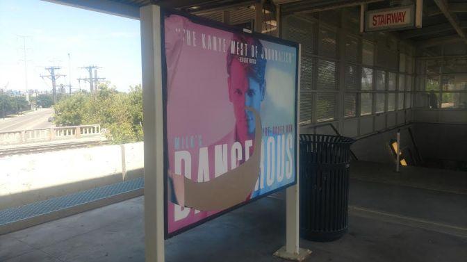 Communique: Torn Down Milo Billboards in Chicago