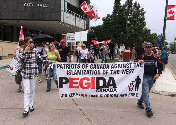 Anti-Fascist Mobilization Opposes Pegida, Soldiers of Odin, and Wolves of Odin in London, Ontario